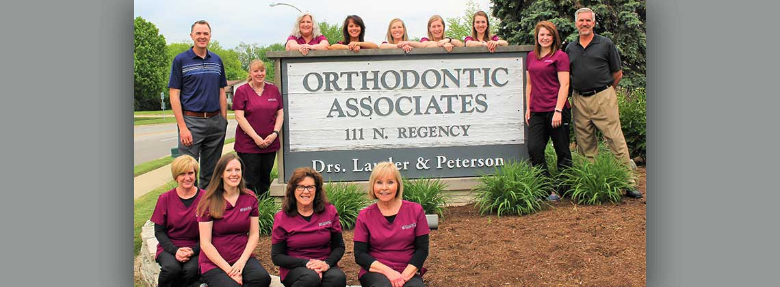 Pgoto of the Orthodontic Associates Team